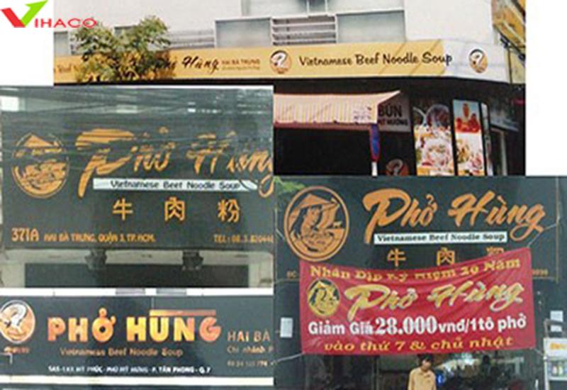 Tranh chấp thương hiệu Phở Hùng tại TP HCM