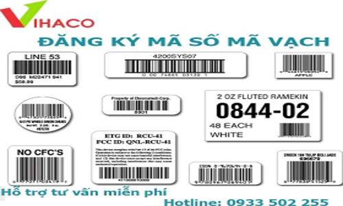 Dịch vụ đăng kí Mã số mã vạch cho sản phẩm