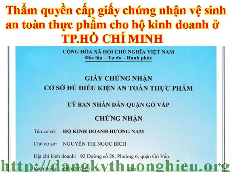tham-quyen-cap-giay-chung-nhan-ve-sinh-attp-cho-ho-kinh-doanh-o-tphcm